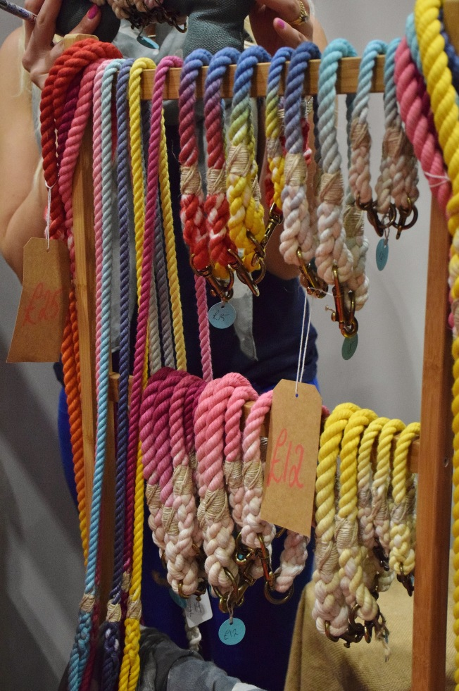 Rope collars from Olive's Larder