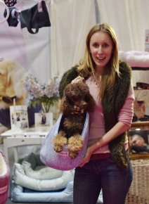 Holly and Rhapsody modelling a Teddy Maximus carrier